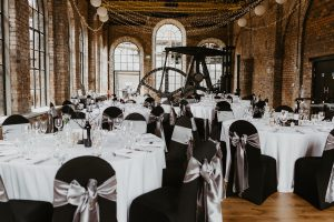 Couture Event Decor and Opulent Catering at The Power House